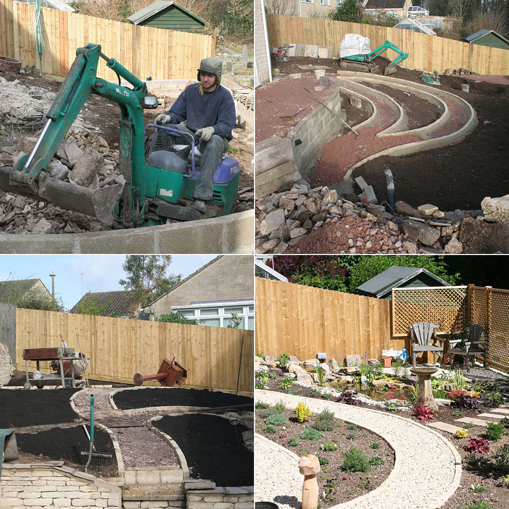 Peter rushton landscapes complete garden renovation for Complete garden services